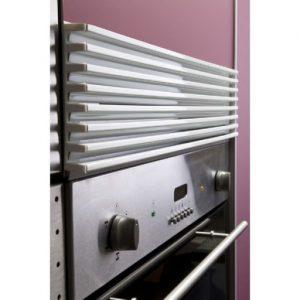 rejilla de ventilación de horno eléctrico